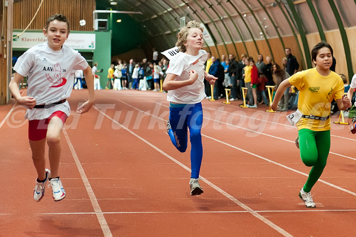 60 Meter sprint junioren